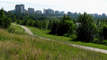 North Saskatchewan River valley park, Photo by The City of Edmonton